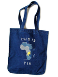 14ozIDG×IDGデニム TOTE BAG(THIS IS AFRICA smile)