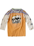 天竺Lazy Skull Deadly Football Tee